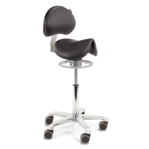 Amazone Balance with lumbar support, seamless upholstered