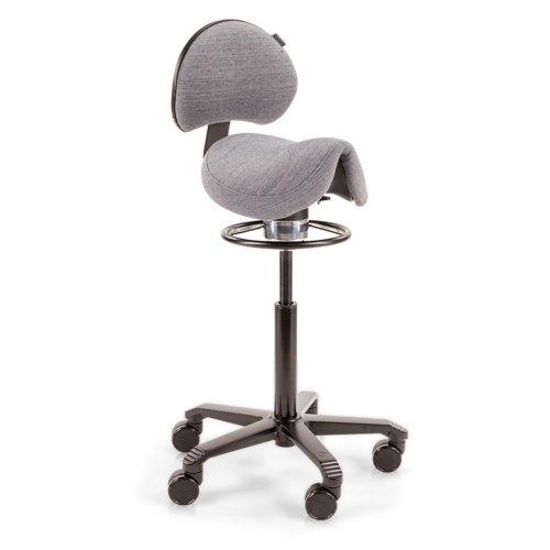 Amazone Balance with Lumbar Support Blend Grey