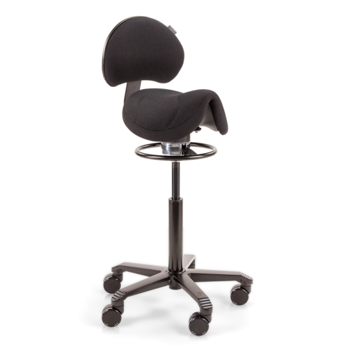 Amazone Balance with Lumbar Support Flex Black