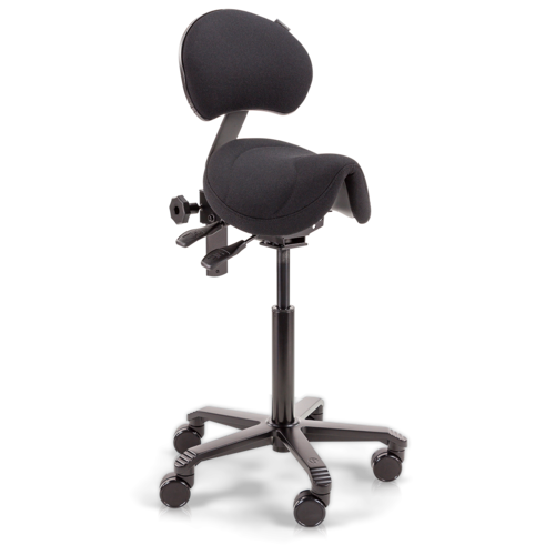 Amazone with Lumbar Support Flex Black